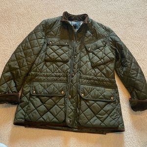Vintage Polo Men's Quilted Utility Jacket